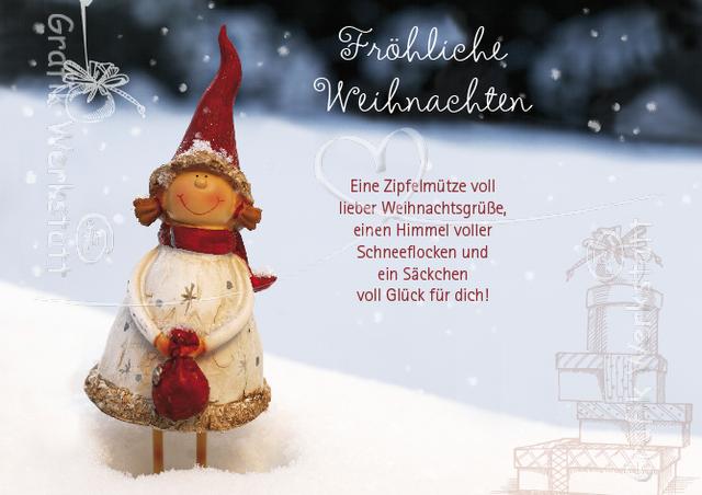 Weihnachtsgrüße Postkarte.Fröhliche Weihnachten Postkarten Grafik Werkstatt Bielefeld