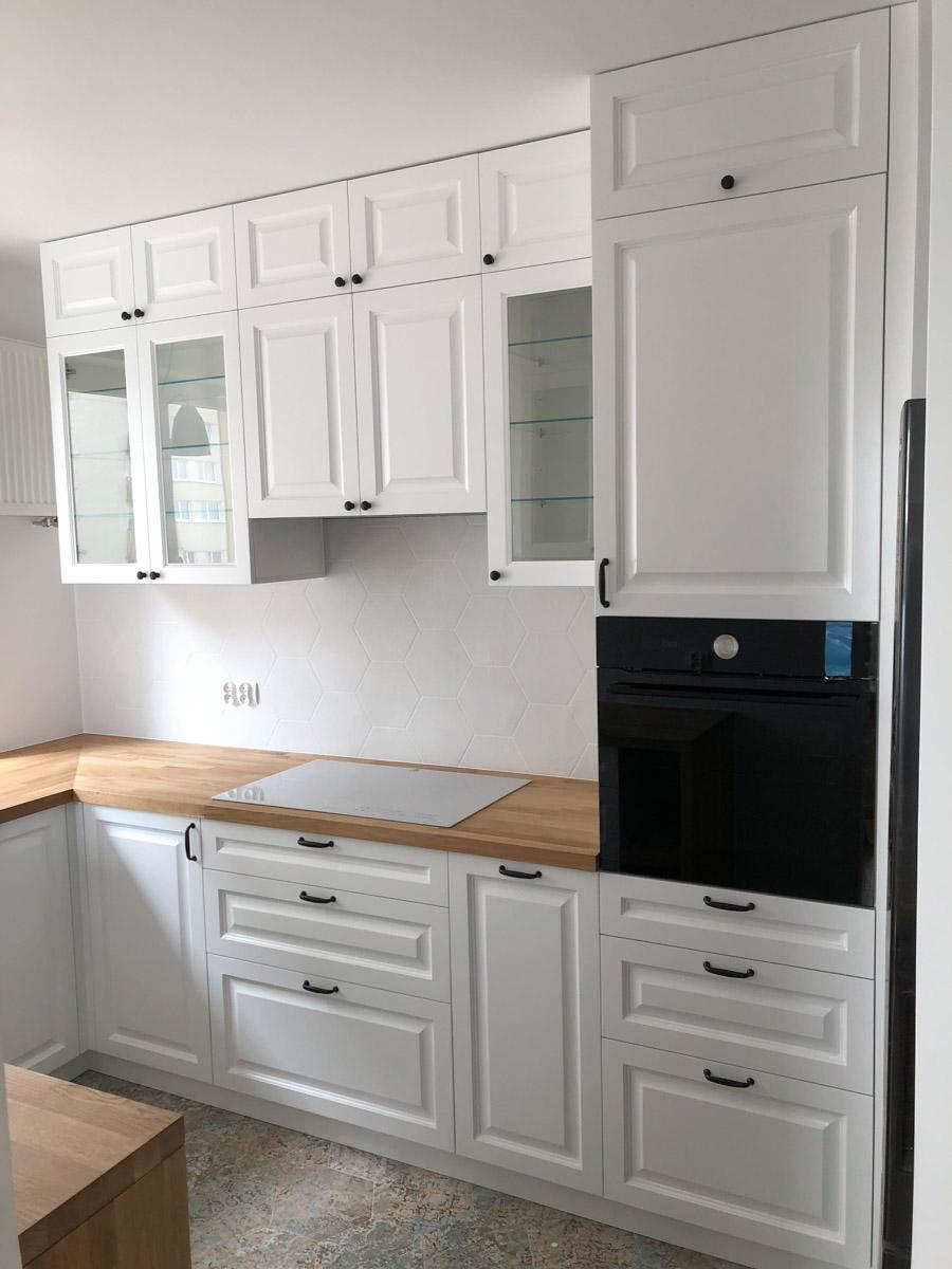 Kuchnia Mdf Frezowany Lakier Polmat 29 Meble Na Wymiar I Na Zamowienie Marito Warszawa Kitchen Room Design Small Kitchen Decor Home Decor Kitchen