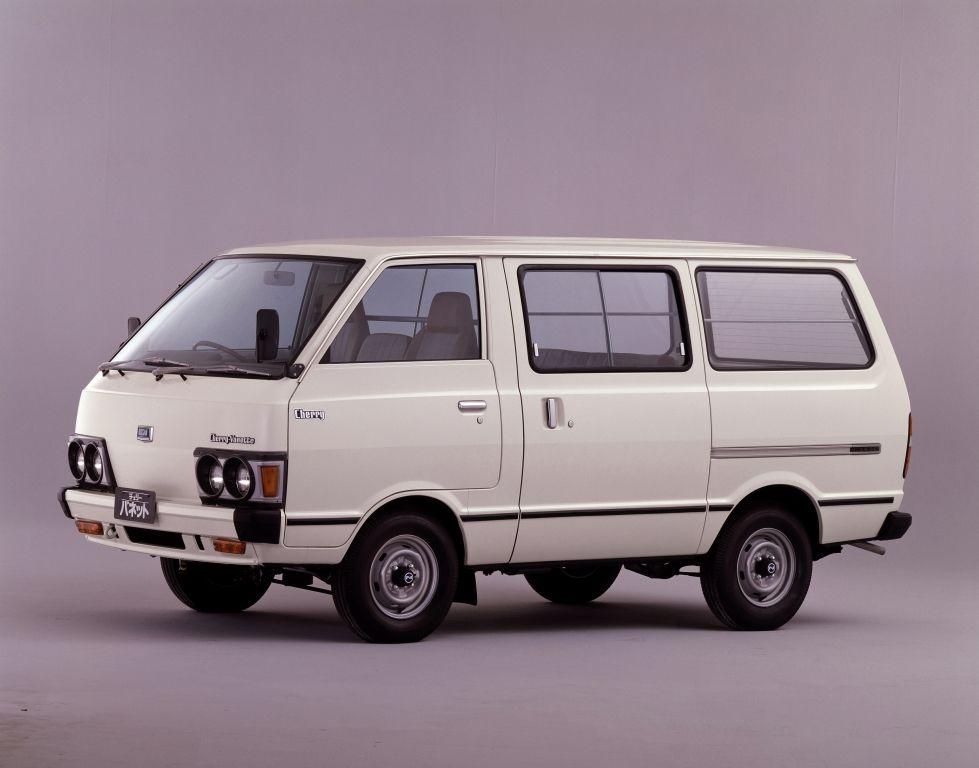 Nissan Cherry Vanette Van C120 1978 85 日産自動車 商用車 カスタムバン