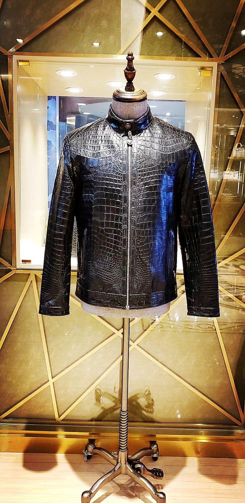 Genuine Alligator Skin Jacket in 2020 Jackets, Urban