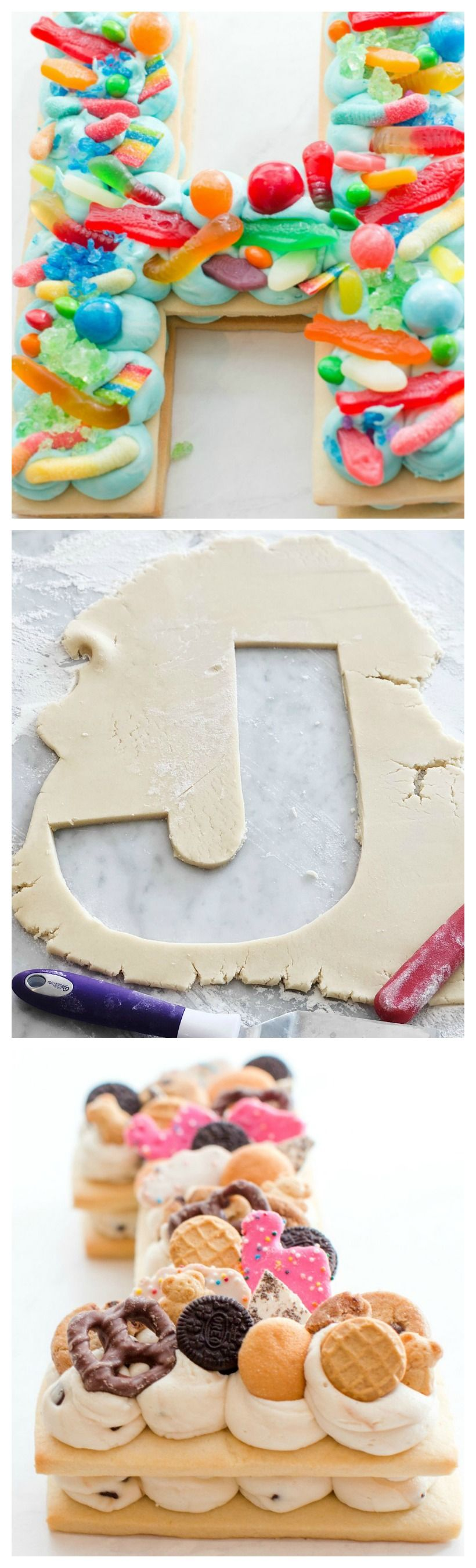 How to make a letter cookie cake cookie cake giant