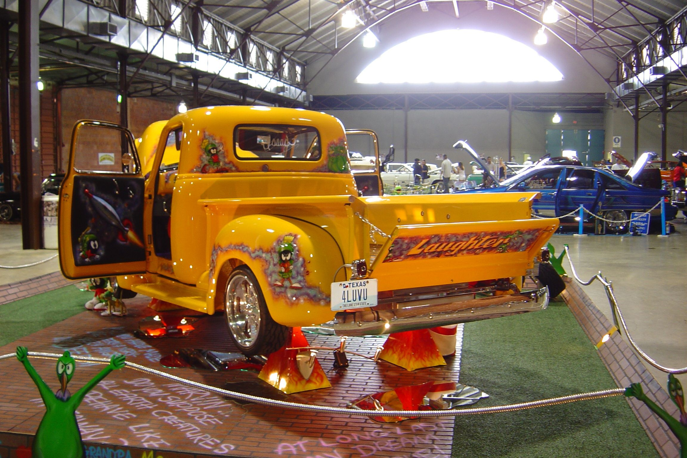 Isaac\'s Laughter 50 Chevy Truck at Lowrider Dallas Carshow ...