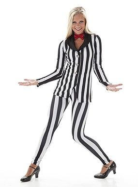 1679579be8ce Beetlejuice - Theme Dance Costume | Black and White | Dance costumes ...