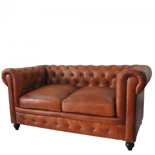 Wallace Sacks Leather Chesterfield Sofa Wallace Sacks from