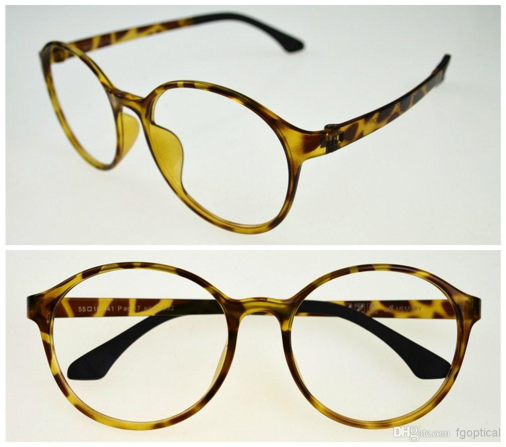 Super Big Rounded Eyeglasses Frames Fashion Glasses Frame Eyeglass ...