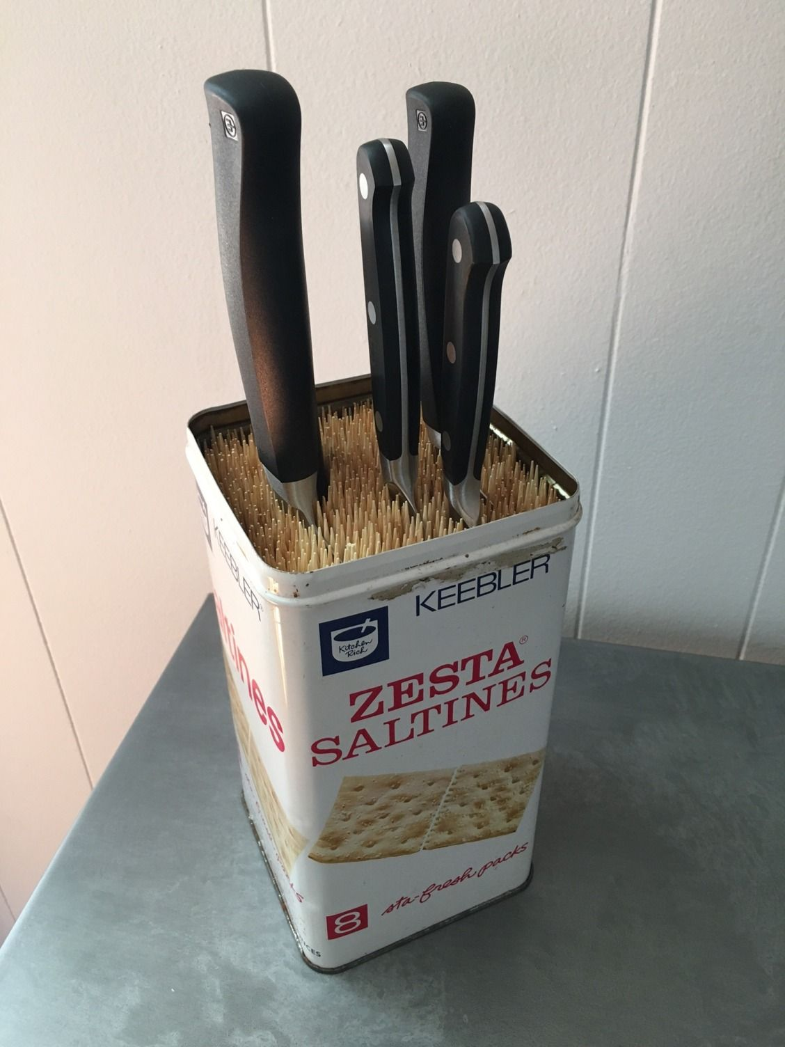 3 Clever Knife Storage Solutions #storagesolutions