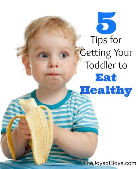 5 Tips and Tricks for Getting Your Toddler to Eat healthy