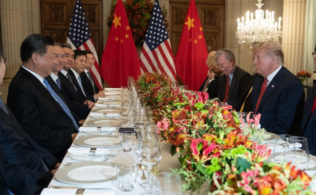 Trump, Xi Chew Over Trade War At HighStakes Dinner In G