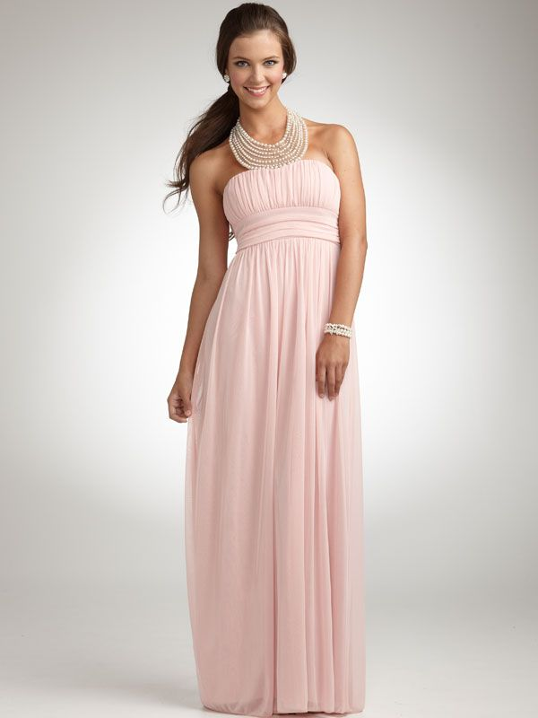 David\'s Bridal Grecian Pink Prom Dress | Prom, Christian and Formal wear