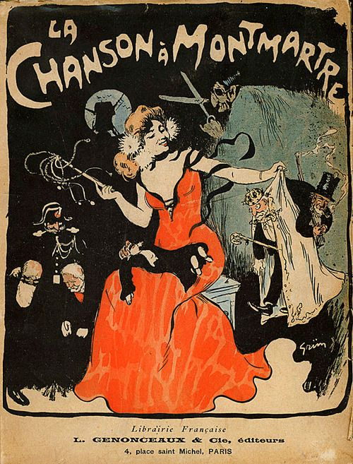 Jules Alexandre Grün - La Chanson à Montmartre - 1902, Wikimedia