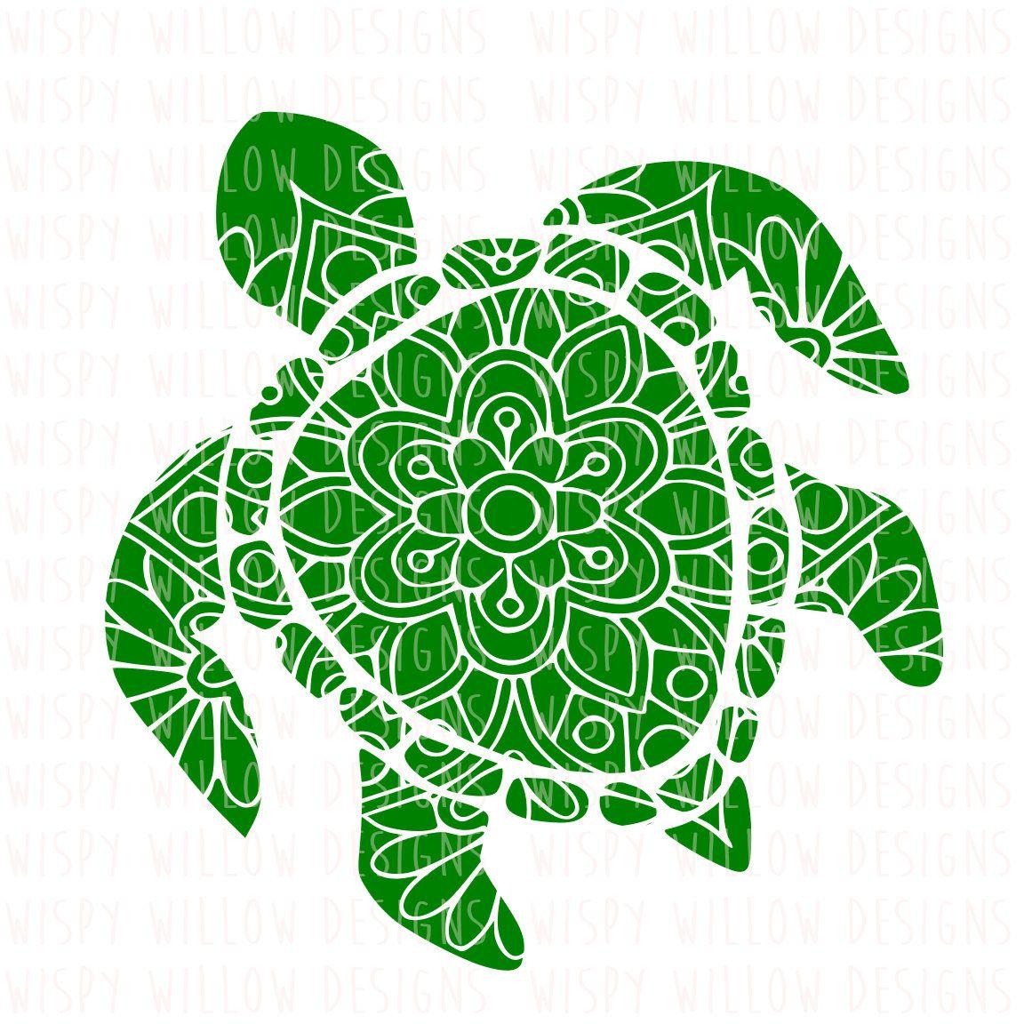 Turtle Svg Dxf Png Eps Jpg Pdf Mandala Turtle Floral Etsy Mandala Turtle Cricut Vinyl Decals
