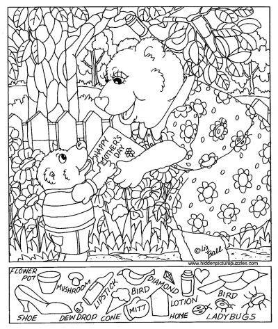 Free Printable Hidden Pictures Kids Hidden Pictures Hidden