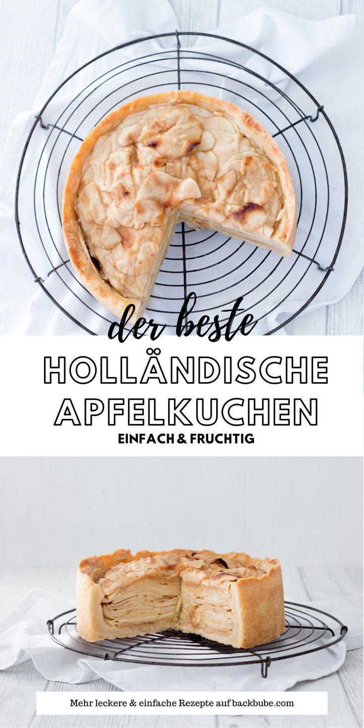Holländischer Apfelkuchen - Ein Traum aus Äpfeln