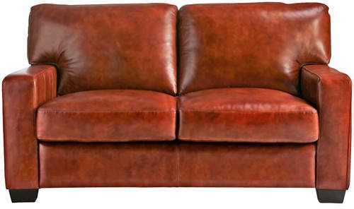 Enjoyable Union Rustic Hillcrest Vintage Leather Loveseat Products Andrewgaddart Wooden Chair Designs For Living Room Andrewgaddartcom