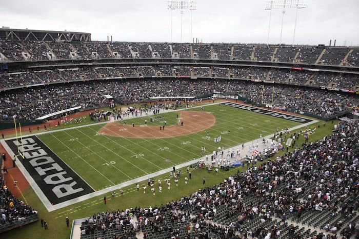Five Nfl Stadiums That Could Use Casinos Nfl Stadiums Football Stadiums Oakland Coliseum