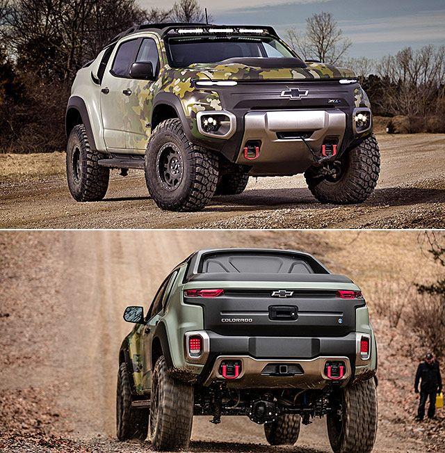 Colorado Zh2: Meet The Chevrolet Colorado ZH2, A Hydrogen-Powered, Off
