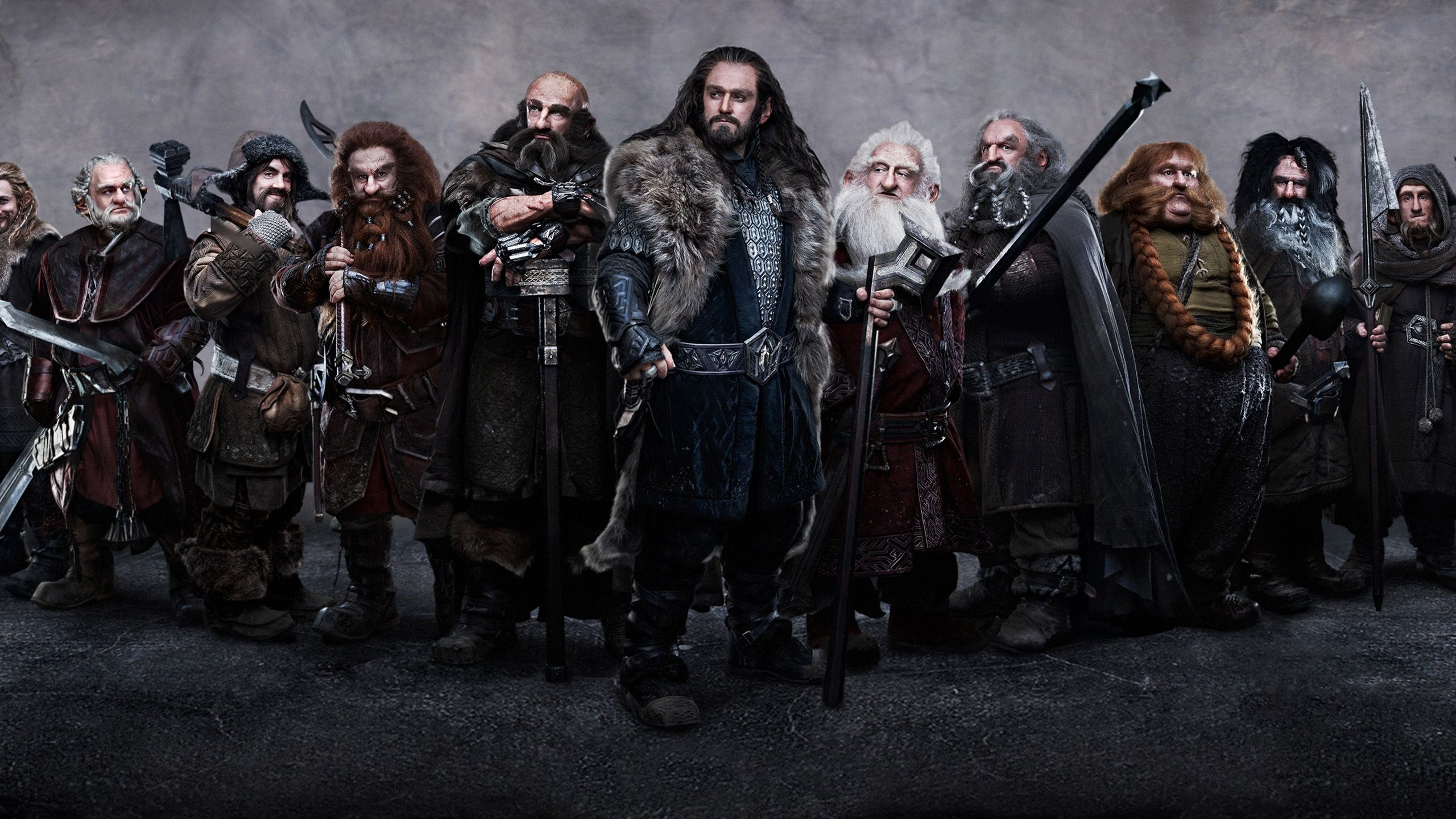 Bilbo Baggins Dwalin and Balin in The Hobbit Movie HD Wallpaper