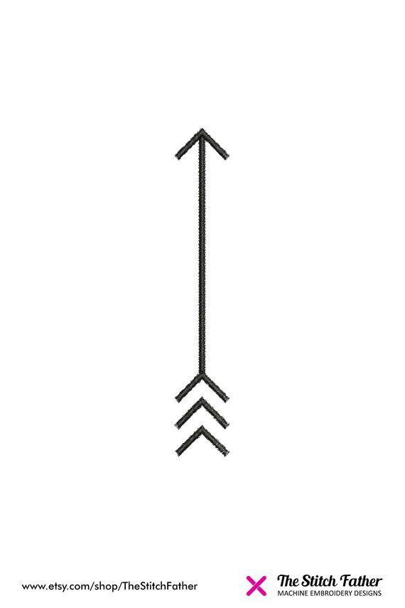 Arrow Machine Embroidery Design