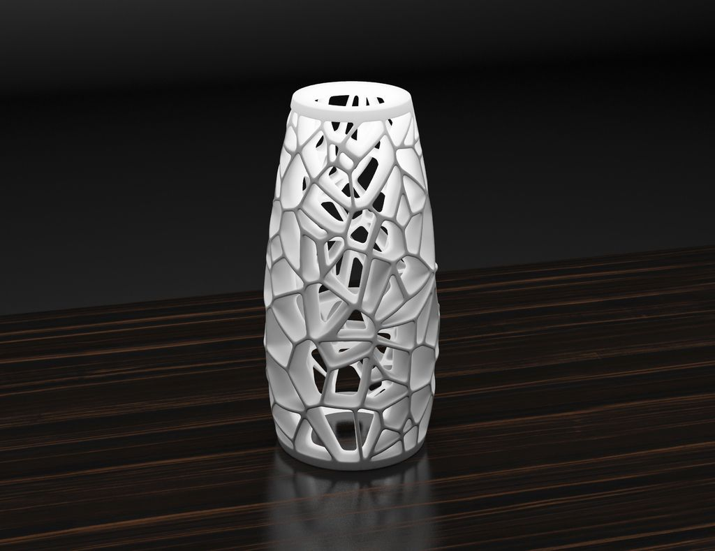 Voronoi Lamp 3 By Markellov Print Models 3d Printing 3d Printing Art