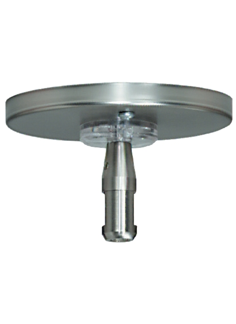 """MonoRail 4"""" Round Power Feed Canopy SingleFeed Details"""