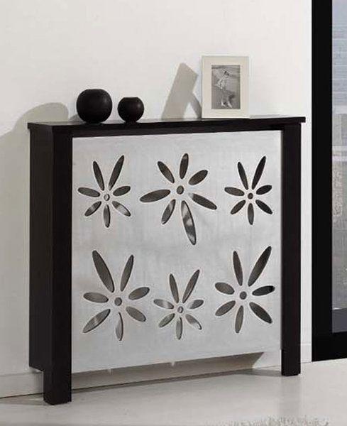 Cubreradiador de madera etxearte teasaire pinterest - Muebles para cubrir radiadores ...