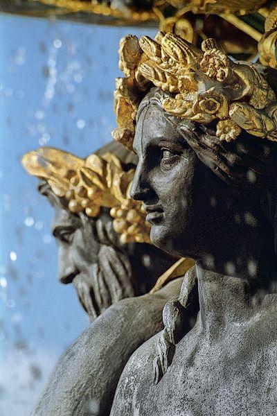 Fontaine des mers , place de la Concorde - Paris 8