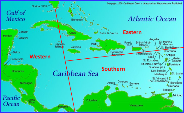 Southern Caribbean Map Southern Caribbean Map.12 Caribbean Maps You Need To See Adventugo