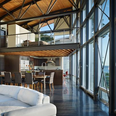 Steel Frame House Design Ideas, Pictures, Remodel, and Decor ...