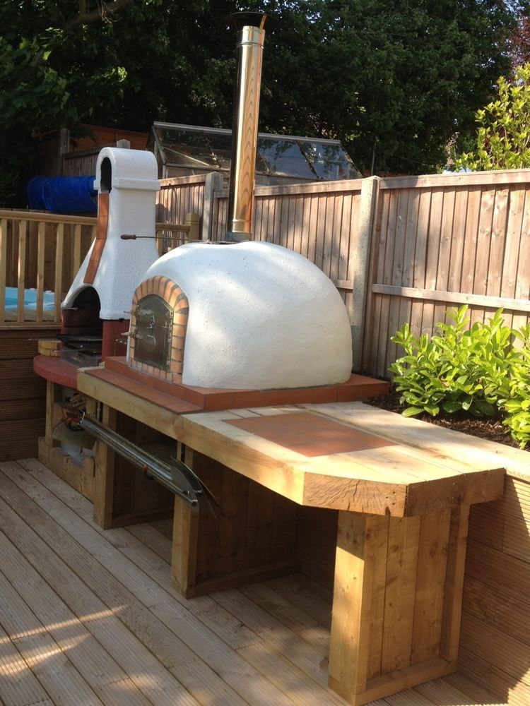 how to build a wood burning pizza oven