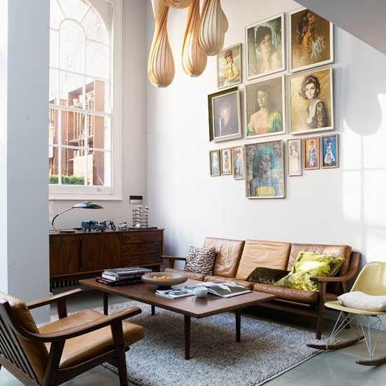 retro: sessel, stühle und lampen im retrolook - [schÖner wohnen ... - Wohnzimmer Im Retro Look