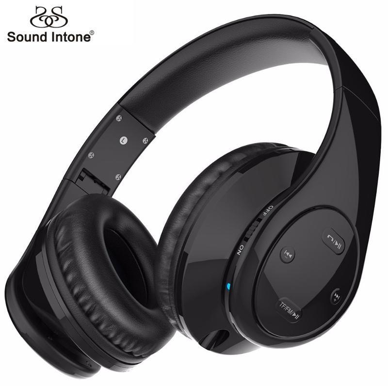 2bb4292c935 Headphones · Sound Intone P7 Wireless Headphones With Mic Support TF Card  Bluetooth Headphone ...