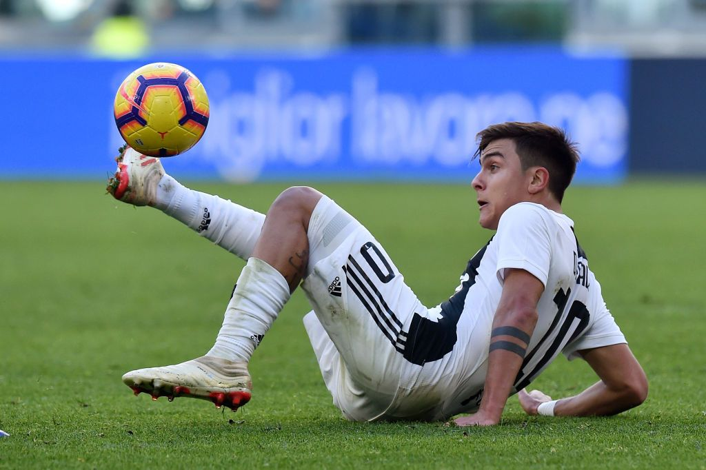 Image result for dybala bench getty 2019