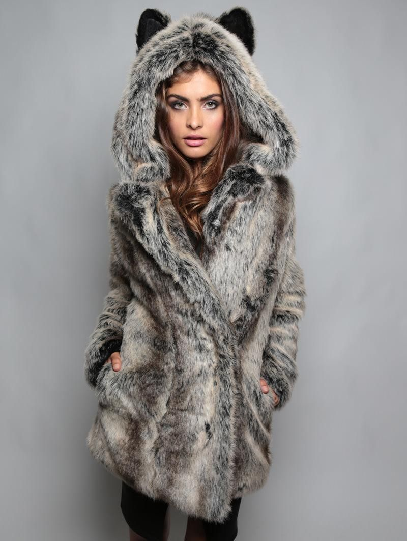 45a4d007fe Grey Wolf Jacket - SpiritHoods. I'm saving up for this baby. Maybe an xmas  present to myself.