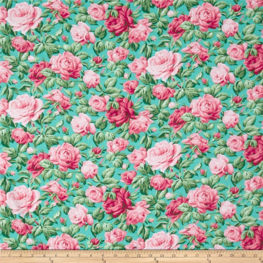 Verna Mosquera Snapshot Rose Garden Ocean from @fabricdotcom ...