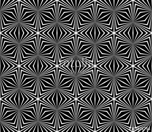 Vector Modern Seamless Sacred Geometry Pattern Black And White Simple Sacred Geometry Patterns