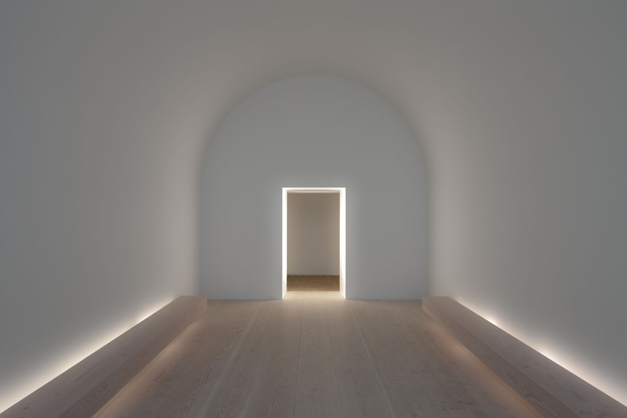 John pawson plain space exhibition interiors design museum