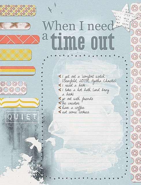 When I need a time out by Rikki, via Flickr.