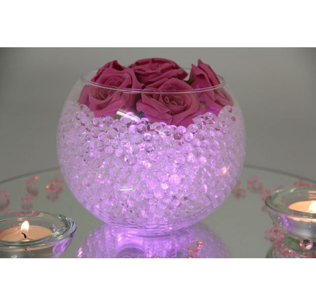 Fish bowl purple wedding centerpieces google search for Fish bowl ideas