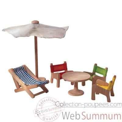 Meubles de jardin en bois - Plan Toys 7316   Sweet world   Pinterest