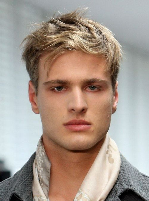 Cool Men Blonde Hairstyles Cool Hairstyles For Men Short Sides