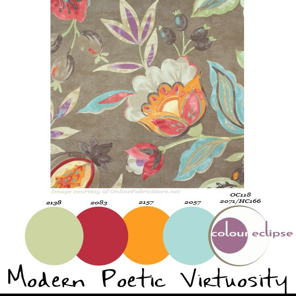 Paint Palettes Color Schemes Benjamin Moore Combinations Waverly Modern Poetic Flaxseed Fabric