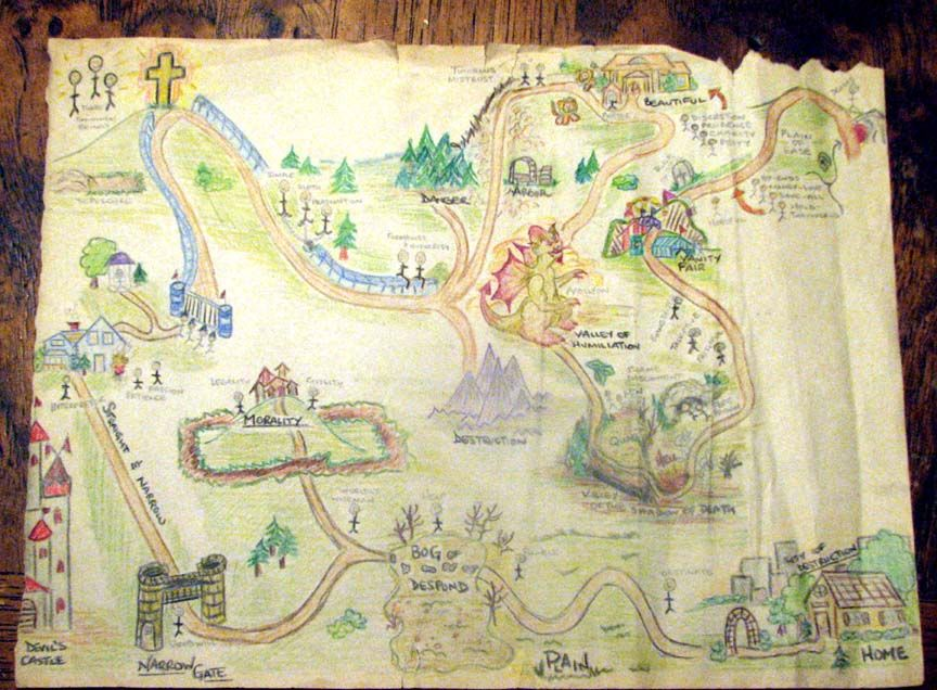 This homeschool mom and her children created maps as they