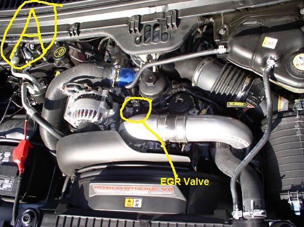 60 Liter Egr Valve Ford Vehicles Trucksrhpinterest: Ford 6 0 Egr Valve Location At Gmaili.net