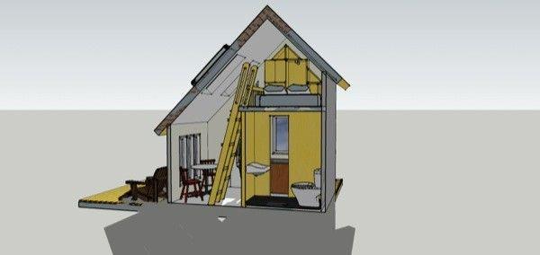 randy farnsworth's 8×12 tiny house design   tiny living - houses
