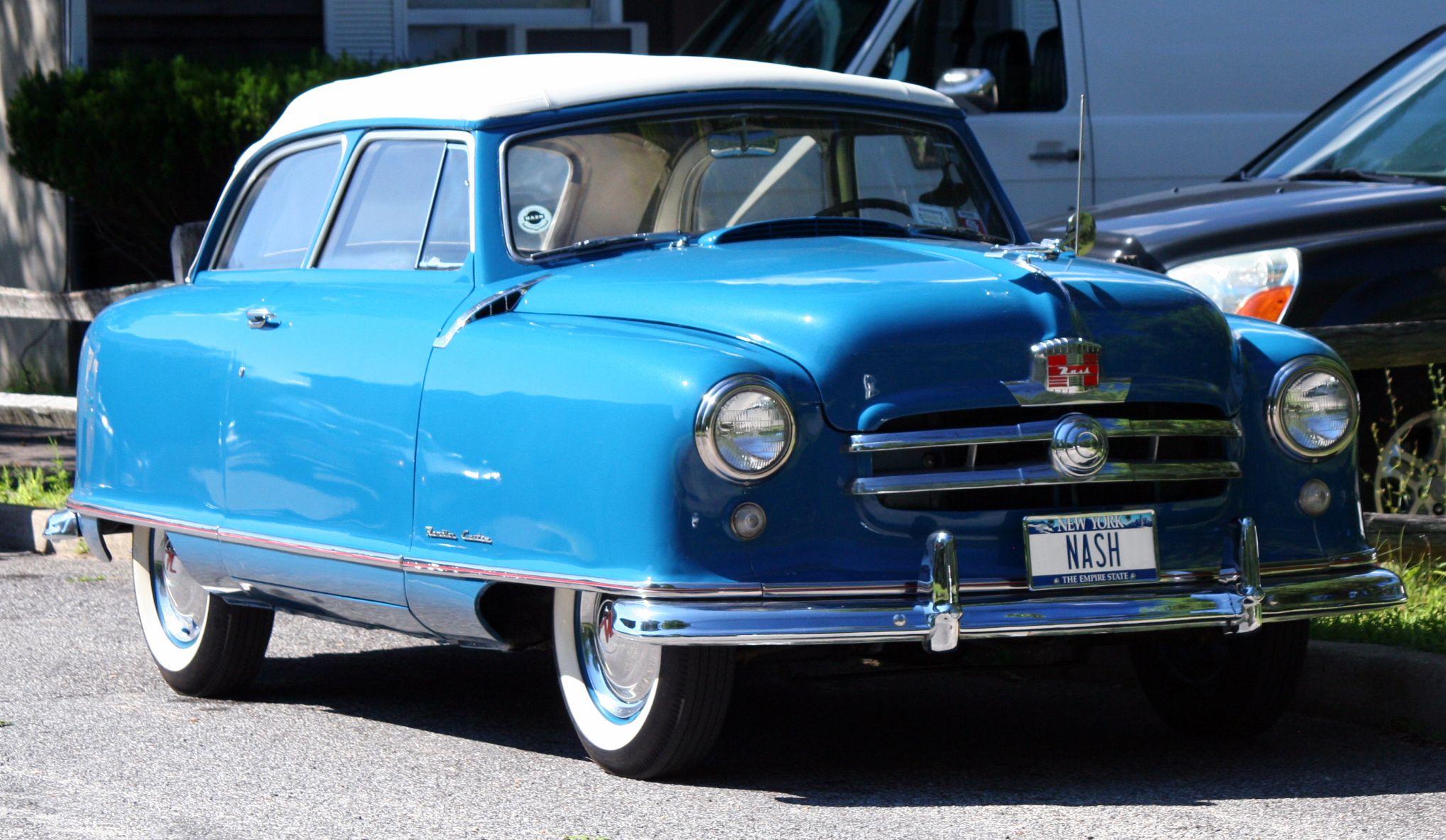 1950 nash rambler airflyte convertible landau hemmings adrenaline capsules pinterest convertible cars and american motors