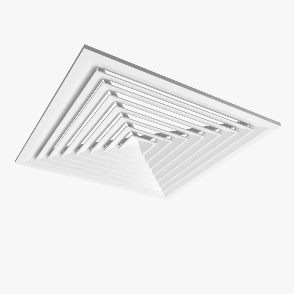 Ceiling Ventilation 3d Model Ad Ceiling Ventilation Model