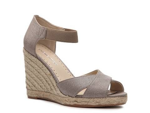 Adrienne Vittadini Vee Wedge Sandal Womens Casual Sandals Sandals Womens Shoes - DSW