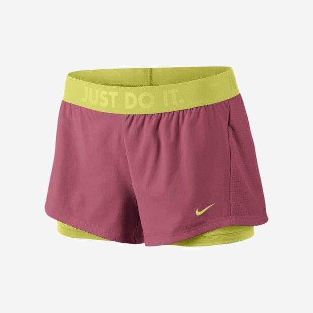 Short da training Nike Circuit 2-in-1 - Donna