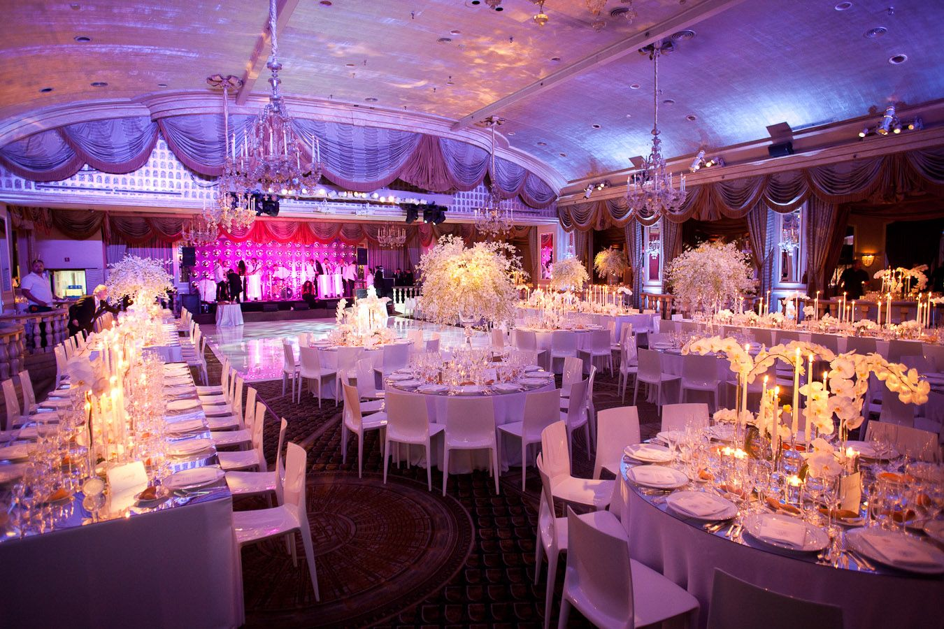 white wedding decor | 11.30.13 | Pinterest | Flower decoration ...