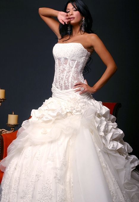 corset bodice wedding dresses